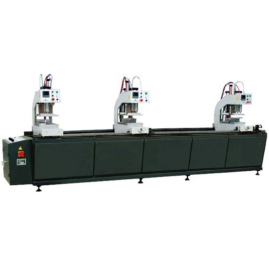 SHZ3-100×3500 Three-point welding machine for PVC door & window