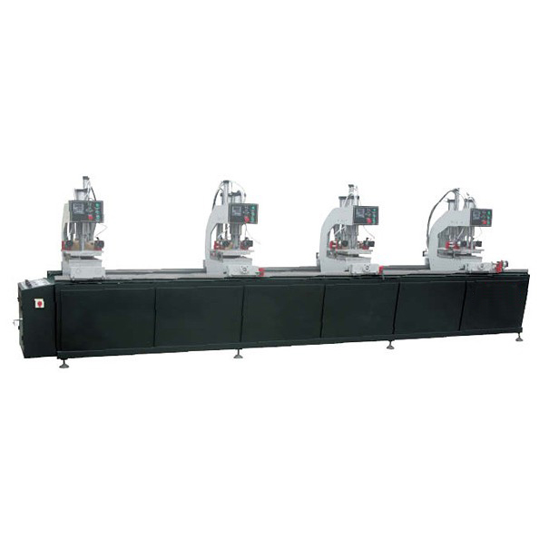SHZ4G-100×4500 Double-sided colour Four-point welding machine for PVC door & window