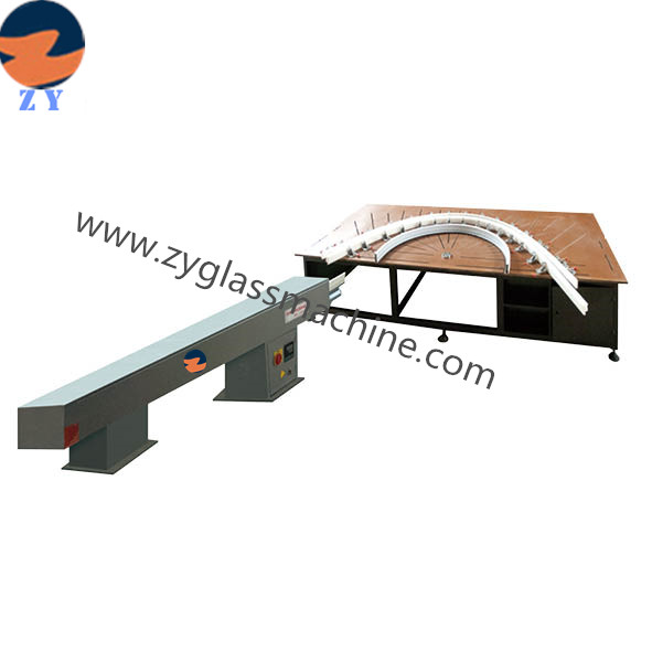 UPVC Infrared air heating arc bending machine